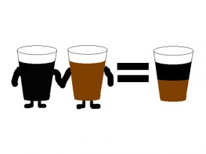 2 beers, one cup.