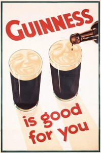 Love the Guinness marketing.